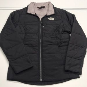 🆕 NORTH FACE Black Puffy Winter Coat